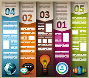 Infographic elements - Cloud and Technology Royalty Free Stock Image