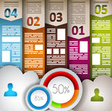 Infographic elements - Cloud and Technology Stock Photos
