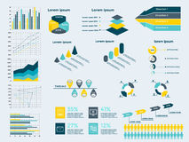 Infographic Elements Collection Stock Photos