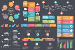 Infographic Elements Collection Stock Images