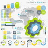 Infographic Elements Collection Royalty Free Stock Photo