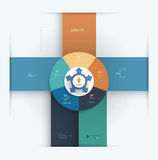 Infographic elements design template Stock Photography