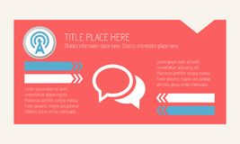Infographic Elements. Royalty Free Stock Photos