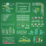 Infographic elements library Royalty Free Stock Photo