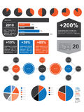 Infographic Elements Pack v.02 Royalty Free Stock Photos