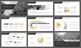 Powerpoint presentation template background. Stock Images