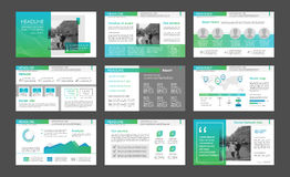 Powerpoint presentation template background. Use in presentation templates, flyer and leaflet, corporate report, marketing, advertising, annual report and Stock Images