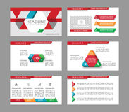Infographic elements for presentation templates. Royalty Free Stock Photography