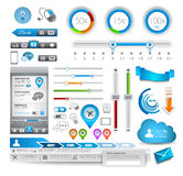 Infographic elements - Quality Set Royalty Free Stock Images