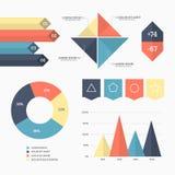 Infographic elements set Stock Photo