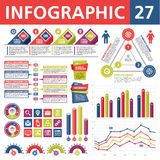 Infographic Elements 27 Royalty Free Stock Photography