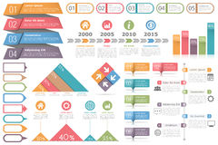 Infographic Elements Set Royalty Free Stock Photography