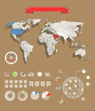 Infographic elements template Stock Images