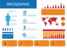 Infographic elements Royalty Free Stock Image