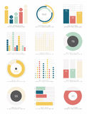 infographic elementu set Zdjęcia Royalty Free