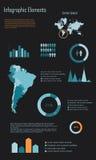 Infographic elementy 3 Zdjęcia Stock