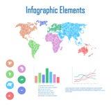 Infographic elementy Obraz Stock