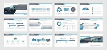 Infographic elementy dla prezentacja szablonów Zdjęcia Royalty Free