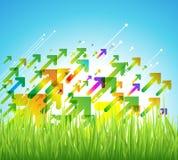 Infographic elementy i Komunikacyjny pojęcie Obraz Stock
