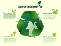 Infographic energy template design. Stock Photos