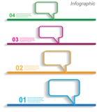 Infographic-Entwurf für Produktklassifizierung Lizenzfreies Stockbild