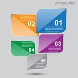 Infographic-Entwurf für Produktklassifizierung Lizenzfreie Stockfotografie