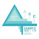 Infographic-Entwurfsschablone mit grafischer Elementsatzillustration Vektordatei in den Schichten für das einfache Redigieren Stockbilder