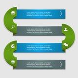 Infographic faborek z ikonami ilustracji