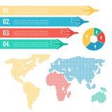 Infographic-Flugzeugverkehr Stockbild