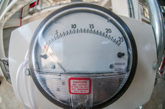Infographic gauge element in the industry Stock Image