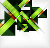 Infographic geometrical shape abstract background Royalty Free Stock Photos