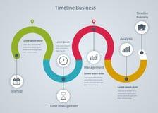 Infographic-Geschäft mit Diagrammen Lizenzfreie Stockfotos
