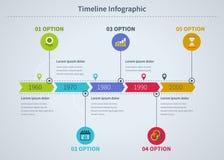 Infographic-Geschäft mit Diagrammen Lizenzfreies Stockbild
