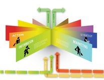 Infographic-Geschäfts-Konzept Stockfotos