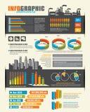 Infographic-Gestaltungselemente Lizenzfreies Stockbild