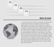 Infographic-Gestaltungselemente Lizenzfreie Stockbilder