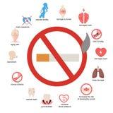 Infographic gezondheid en gezondheidszorg Stock Afbeelding