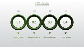 Infographic gradual Foto de archivo