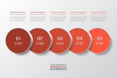 Infographic gradual Fotos de archivo