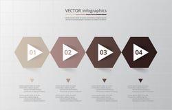 Infographic gradual Imagen de archivo