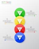 Infographic gradual Fotos de archivo libres de regalías