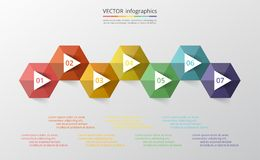 Infographic graduale illustrazione vettoriale