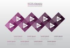 Infographic graduale Immagini Stock Libere da Diritti