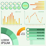 Infographic Green Stock Photography