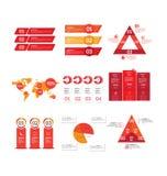 Infographic grote vectorreeks vector illustratie