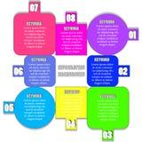 Infographic Hintergrund Stockfotografie