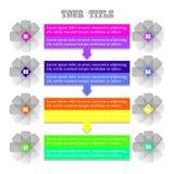 Infographic Hintergrund Lizenzfreies Stockbild