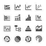 Infographic i mapy ikona ustawiamy 2, wektor eps10 Obrazy Stock