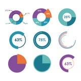 Infographic icon design Royalty Free Stock Image