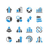 Infographic icon Stock Photography